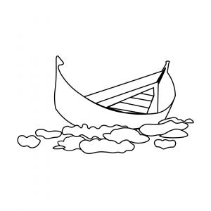 Illustration Hashtag Lyrik Wolkenschiff