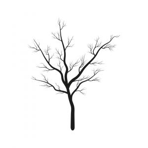 Illustration Hashtag Lyrik Baum